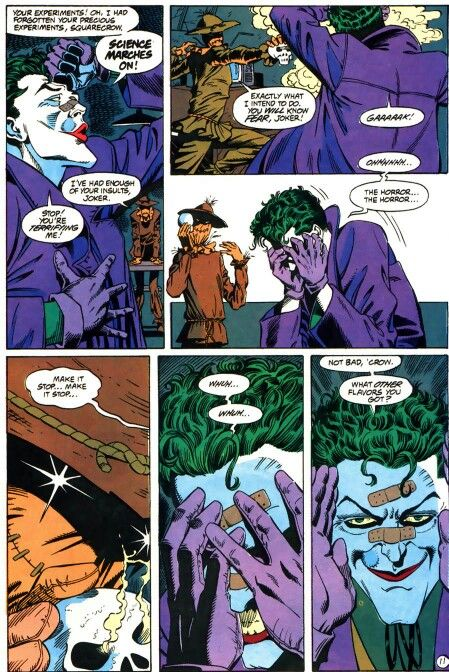 The Joker doesn't fear anything...