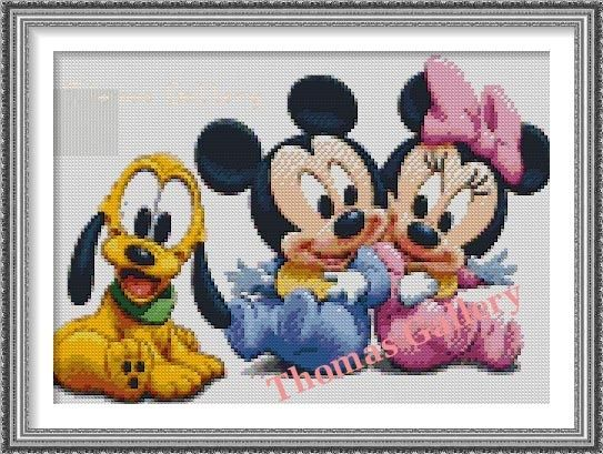 Free Pictures And Cross Stitch Patterns Thomas Gallery Baby Disney