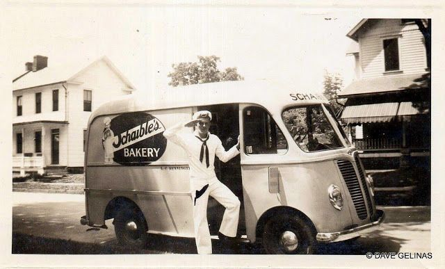 Vintage Everyday 30 Photos Of Bakery And Bread Trucks From Between The 1930s