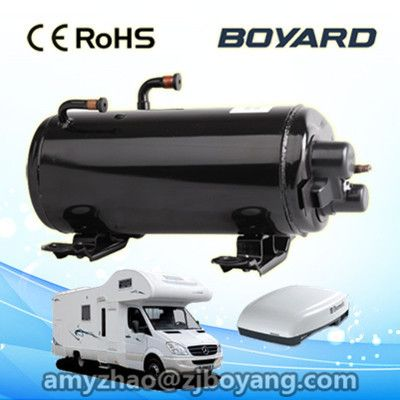 R407c Boyard 50hz 220 240v Rotary Ac Compressor For Rail Air