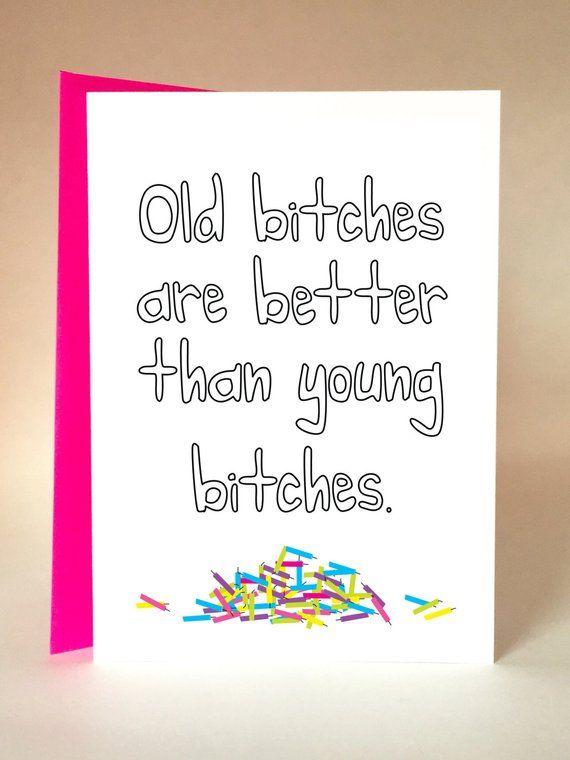 Birthday Girl Funny Card Friend Mom Aunt Sister F
