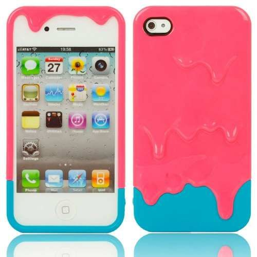 Cool iPhone 4S slime case!!