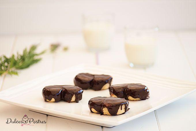 Palmeritas De Morata Receta Casera Dulcespostres Com Receta Palmeras De Chocolate Receta De Rosquillas Blog De Reposteria