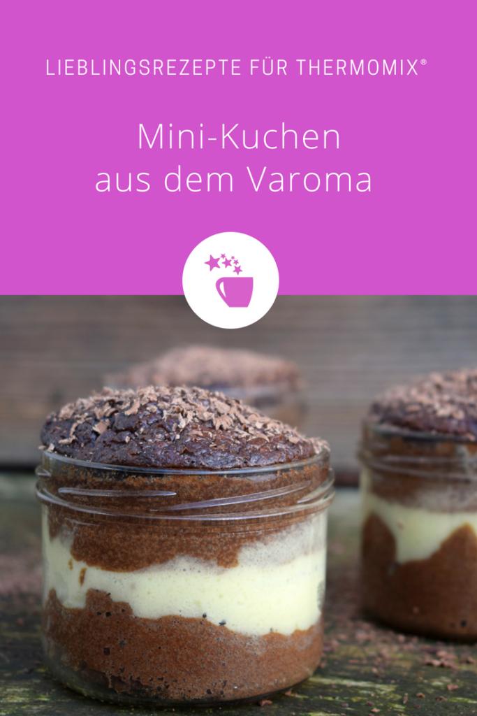 Mini-Kuchen aus dem Varoma – Rezept für den Thermomix