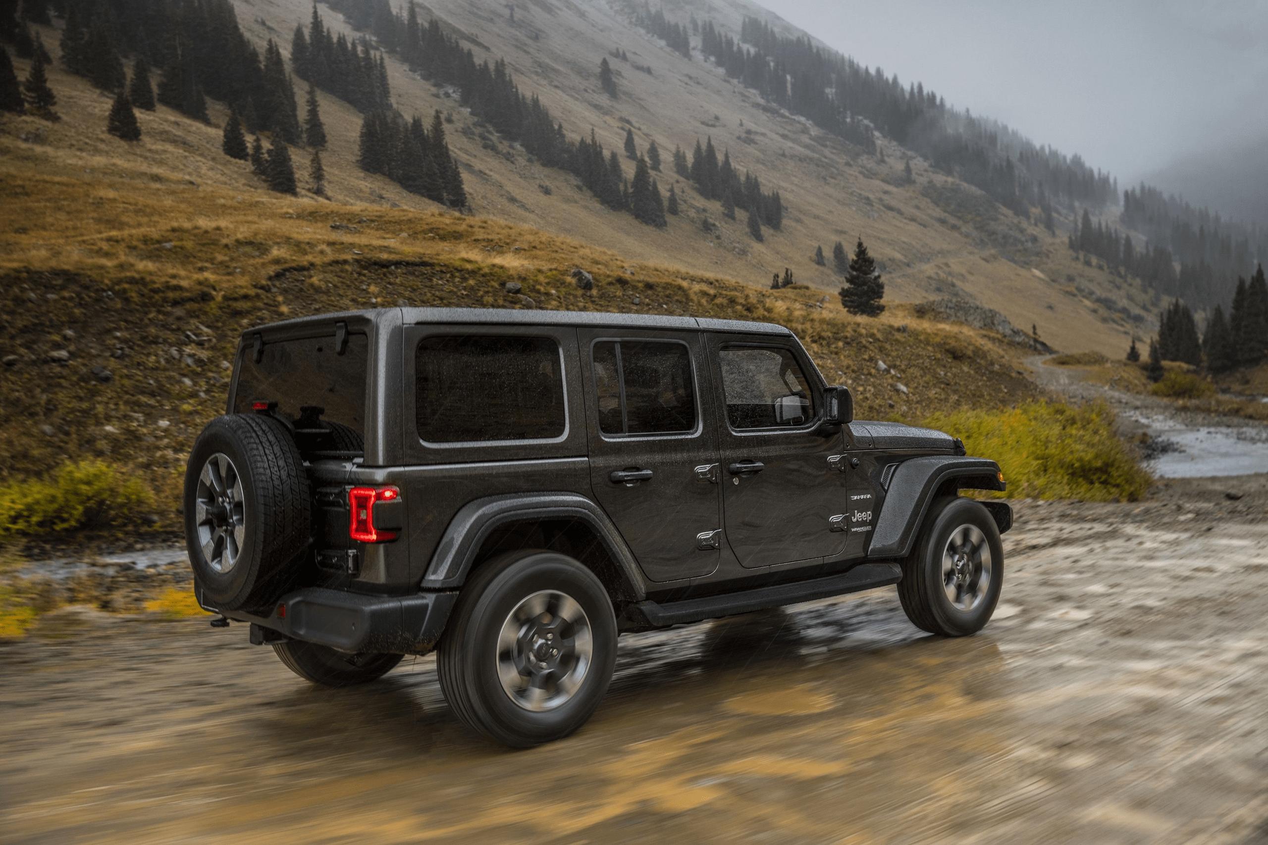 2021 Jeep Wrangler Rubicon Spy Shoot In 2020 Jeep Wrangler