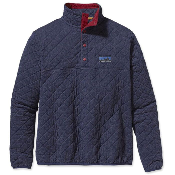 Patagonia Diamond Quilt Snap T Pullover Men S
