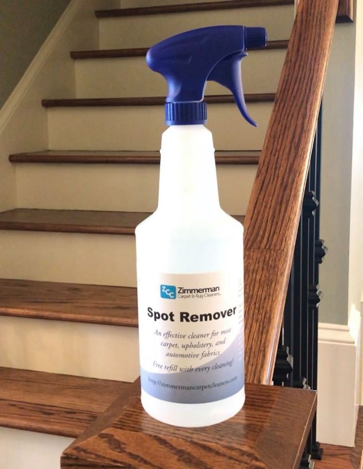 With every inhome cleaning, our technicians will leave