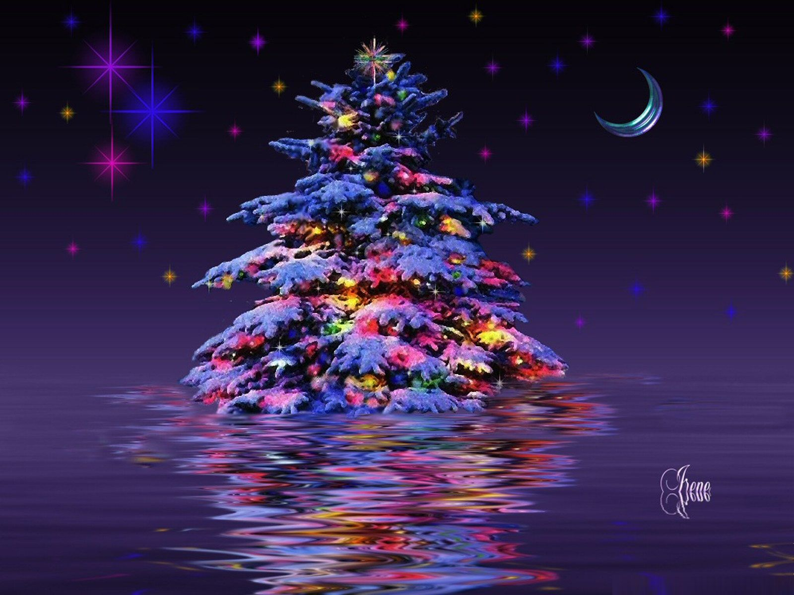Free Wallpaper Christmas Tree Part - 23: Free 3 D Christmas Background | Tree Wallpapers Your Selected Image As Your  Desktop Wallpaper You