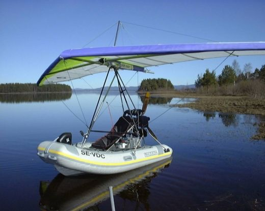 Polaris Ultralight Trike   Disaster Prep    Flying boat