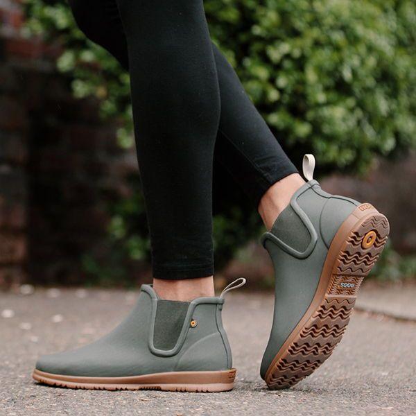Chelsea rain boots, Ankle rain boots