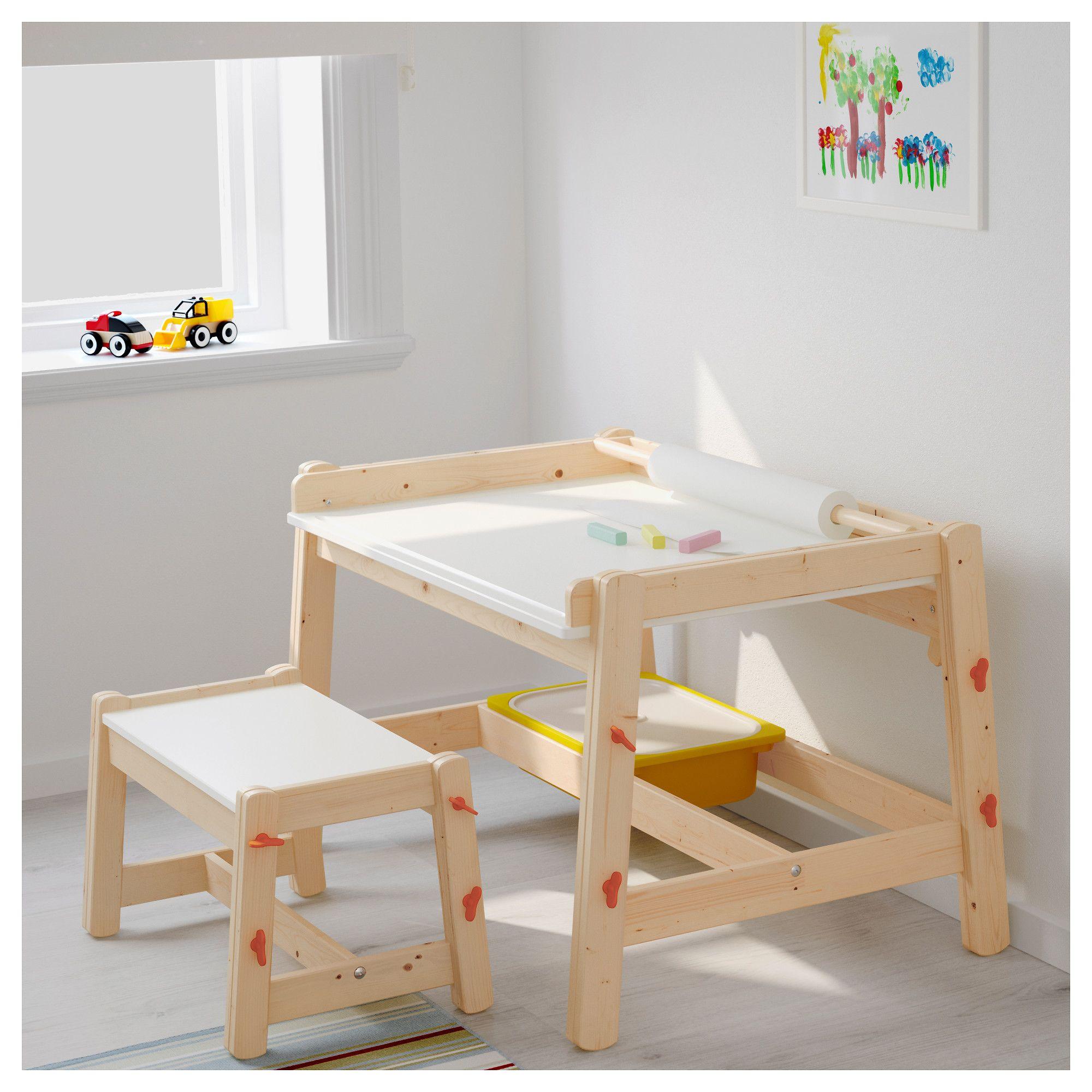 Ikea Flisat Children S Desk Adjustable In 2019