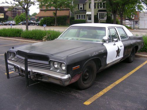 74 Dodge Monaco from the Blues Brothers.Driven by John Belushi and