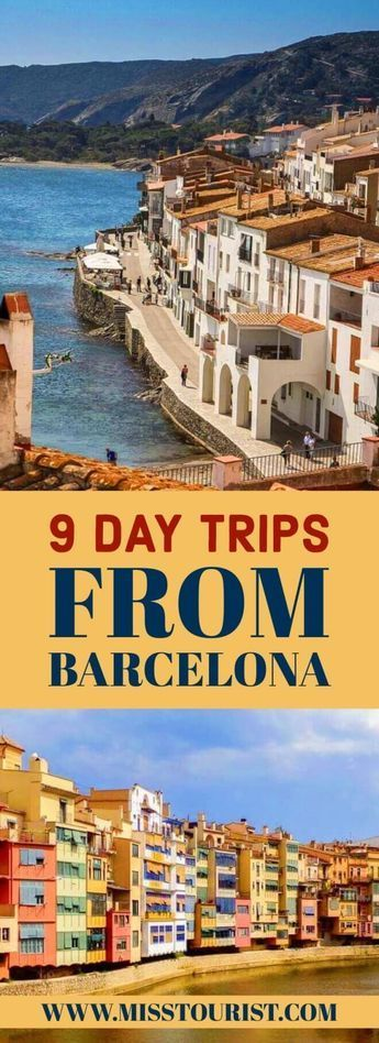9 Best Day Trips From Barcelona (With Prices & Tips) #spanishthings