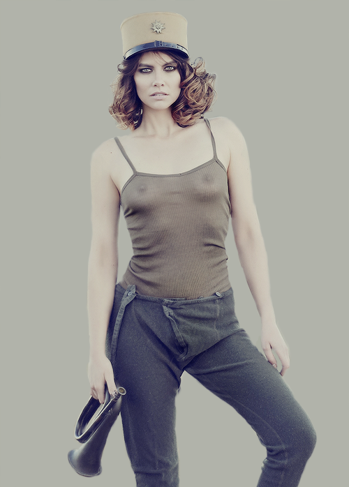 Lauren Cohan bold and beautiful