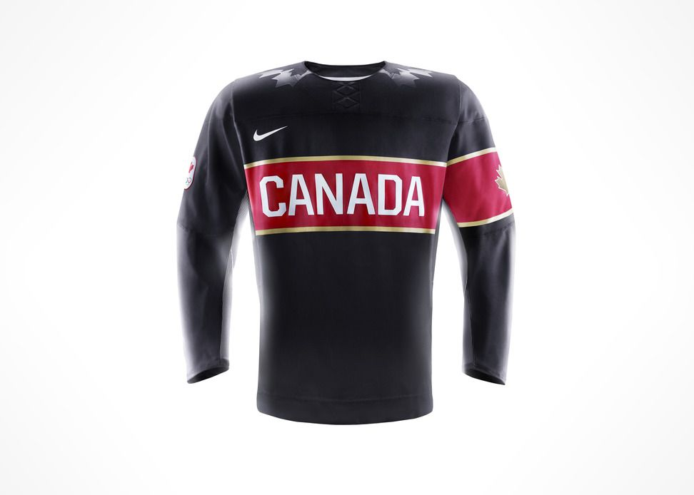 Nike Inc Hockey Canada And Nike Unveil Team Canada Jersey For 2014 Olympic And Paralympic Winter Games Team Canada Olympic Hockey Hockey Jersey