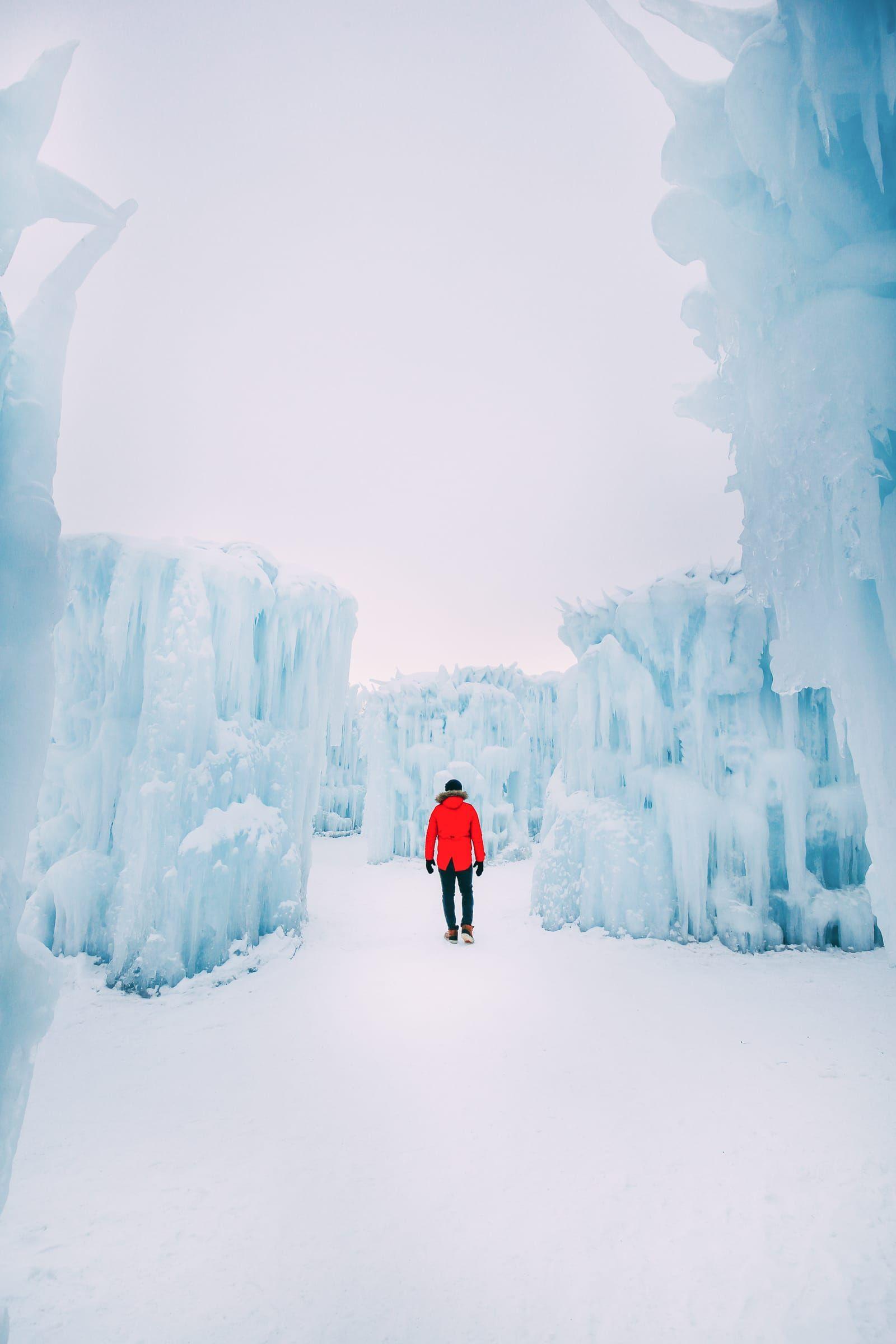 Ice Castle In Alberta, Canada canadatravel Travel
