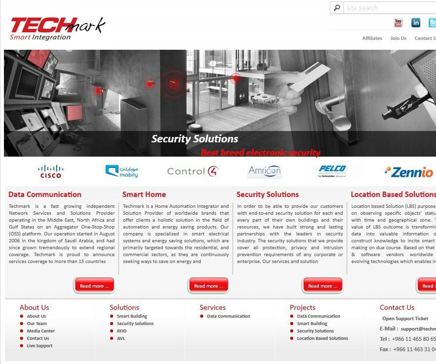 Techmark Smart Home Smart Home Security Security Solutions