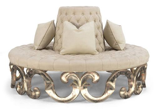Round Sofa Classic Style 60 0122 Christopher Guy Furniture Round Sofa Sofa Furniture