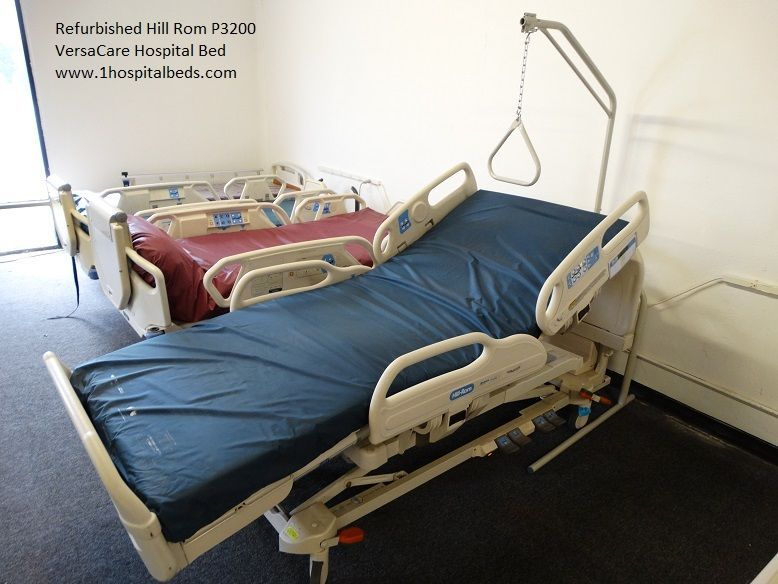 Used Refurbished Hill Rom P3200 Versacare Hospital Bed For Sale Beds For Sale Bed Hospital Bed