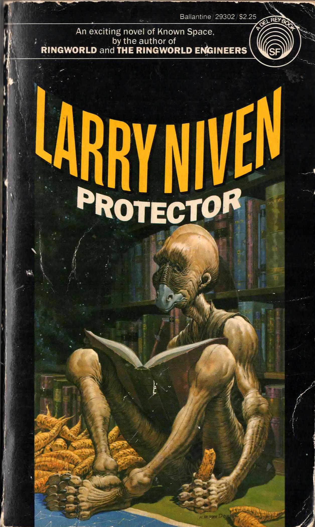 Protector by Larry Niven  Ballantine - Del Ray Science