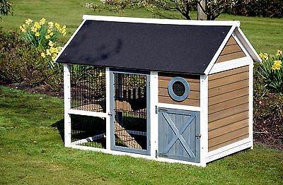 xxl h hnerstall kleintierstall freigehege legebox gefl gel kaninchenstall chickens. Black Bedroom Furniture Sets. Home Design Ideas