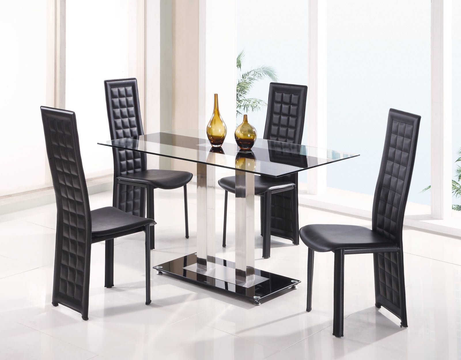 Schwarz Esszimmer Sets Stuhle Tisch Und Verkauf Runde Kuche Fur Set