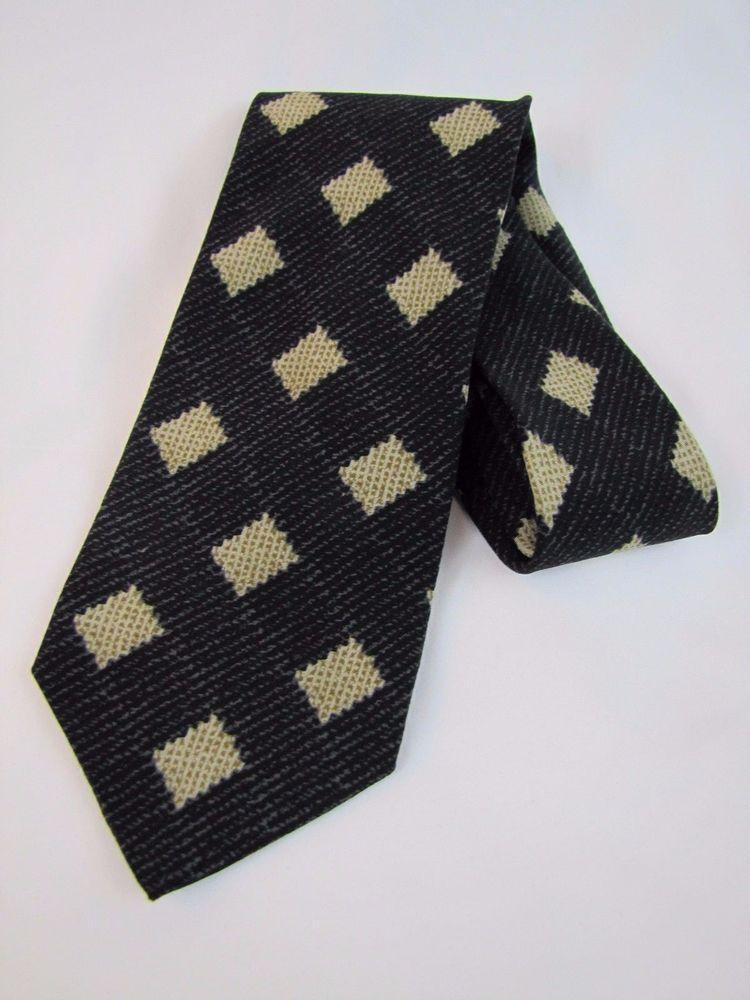 Men's GIORGIO ARMANI Necktie Made in Italy 100% Silk #ARMANI #Tie