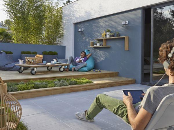 L 39 am nagement de terrasse avec un sol du bois for Amenager sa terrasse appartement