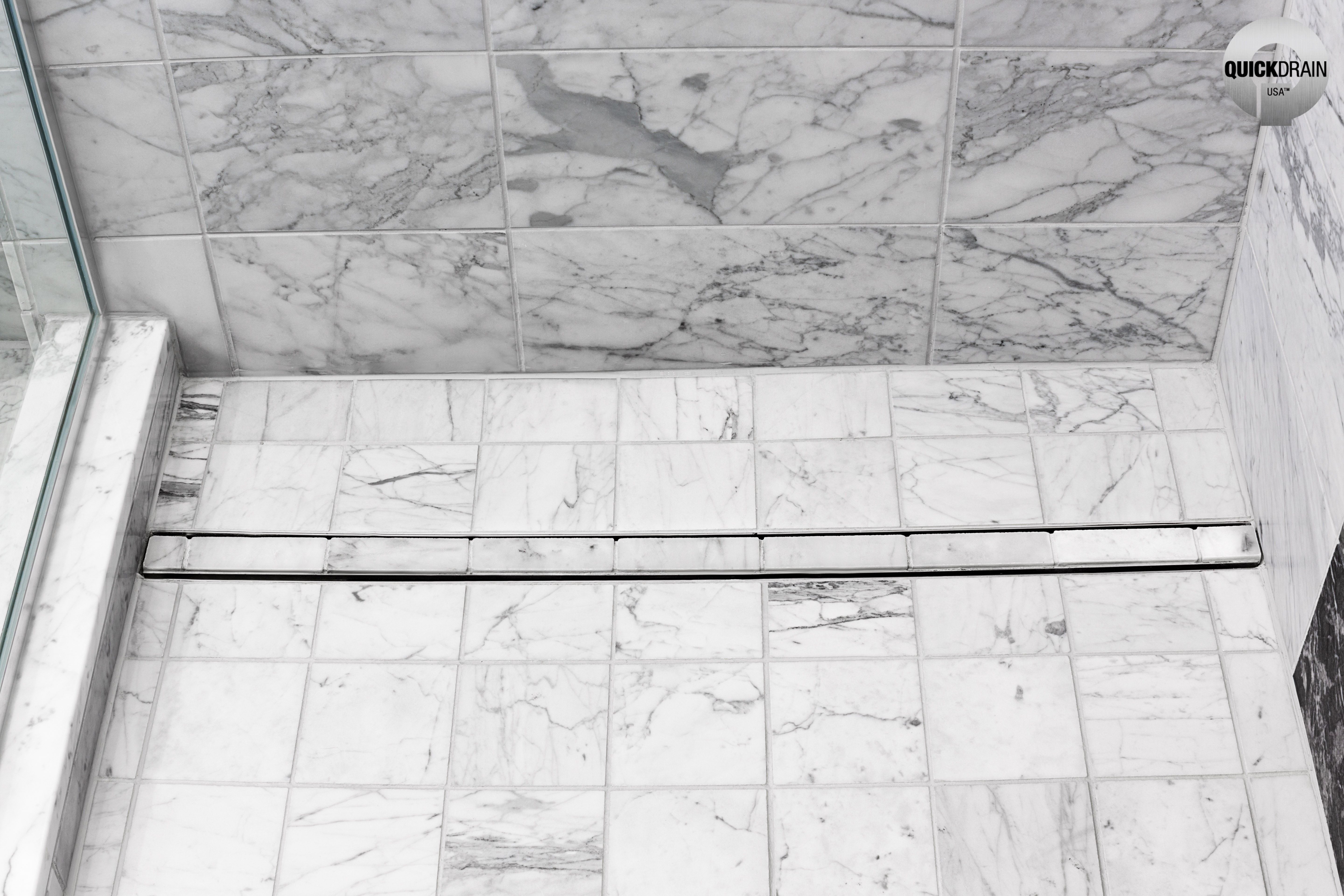 Showerline Pvc Linear Drains With Images Black And White