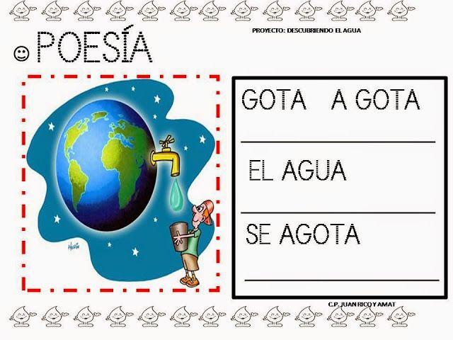 Proyecto El Agua Proyecto Agua Poesia Sobre El Agua Agua