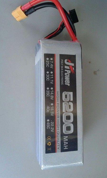 baterias JH POWER 5200mah 6s 22.2v 40c