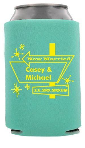 Vegas Themed Wedding #koozies