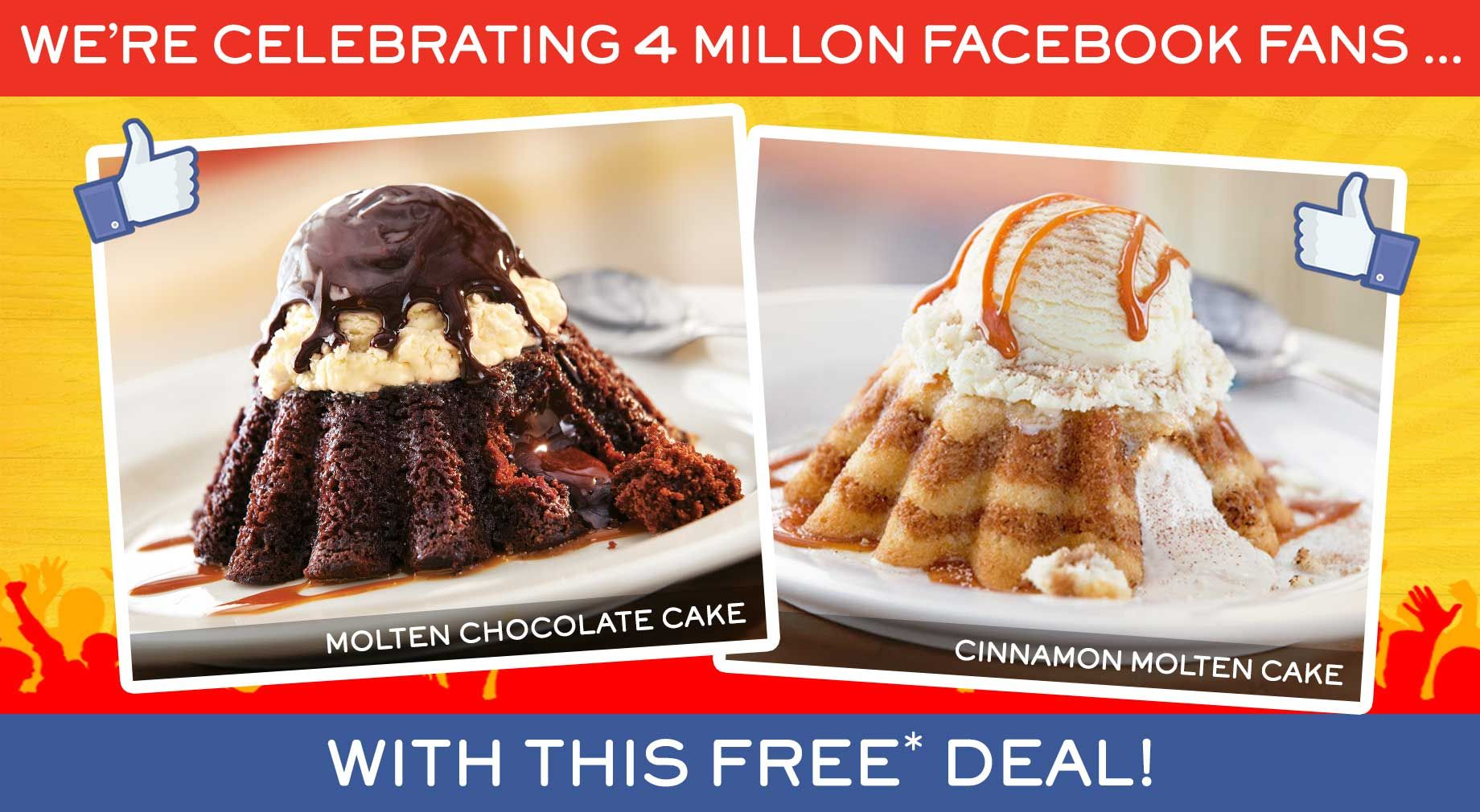 CHILI'S $$ Reminder: Coupon for FREE Dessert of Your Choice – Expires TODAY (5/15)!