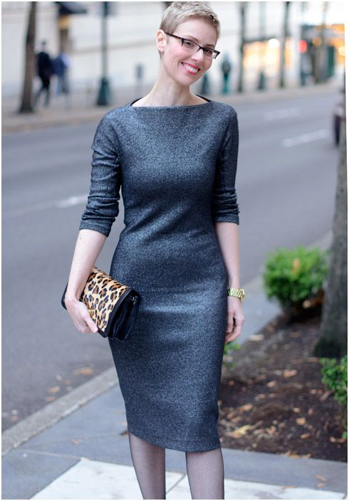 minimalist chic - zara dress