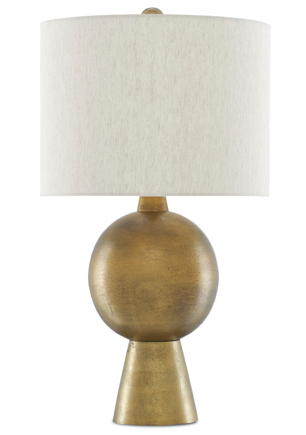 Rami Brass Table Lamp Currey And Company Brass Table Lamps