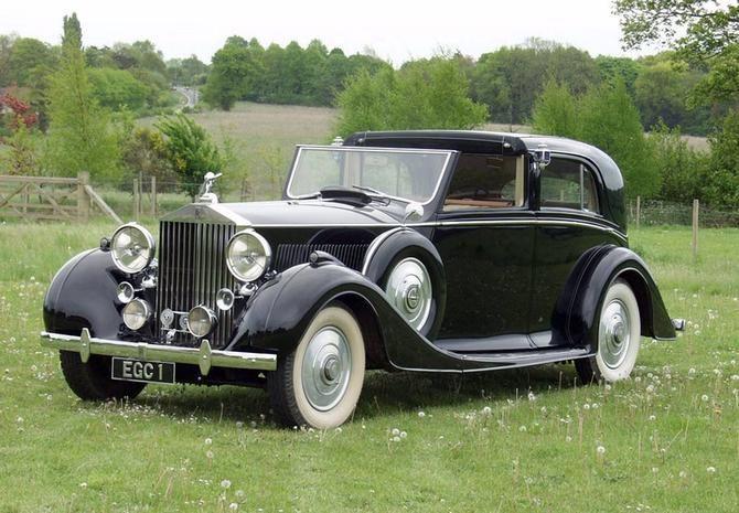 Arthur Mulliner Rolls Royce Phantom Iii Sedanca De Ville 1938 3cp102