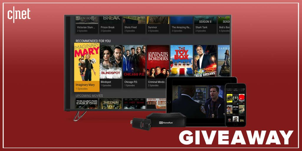 Enter to win* a lifetime service of Live TV!: CNET and Plex