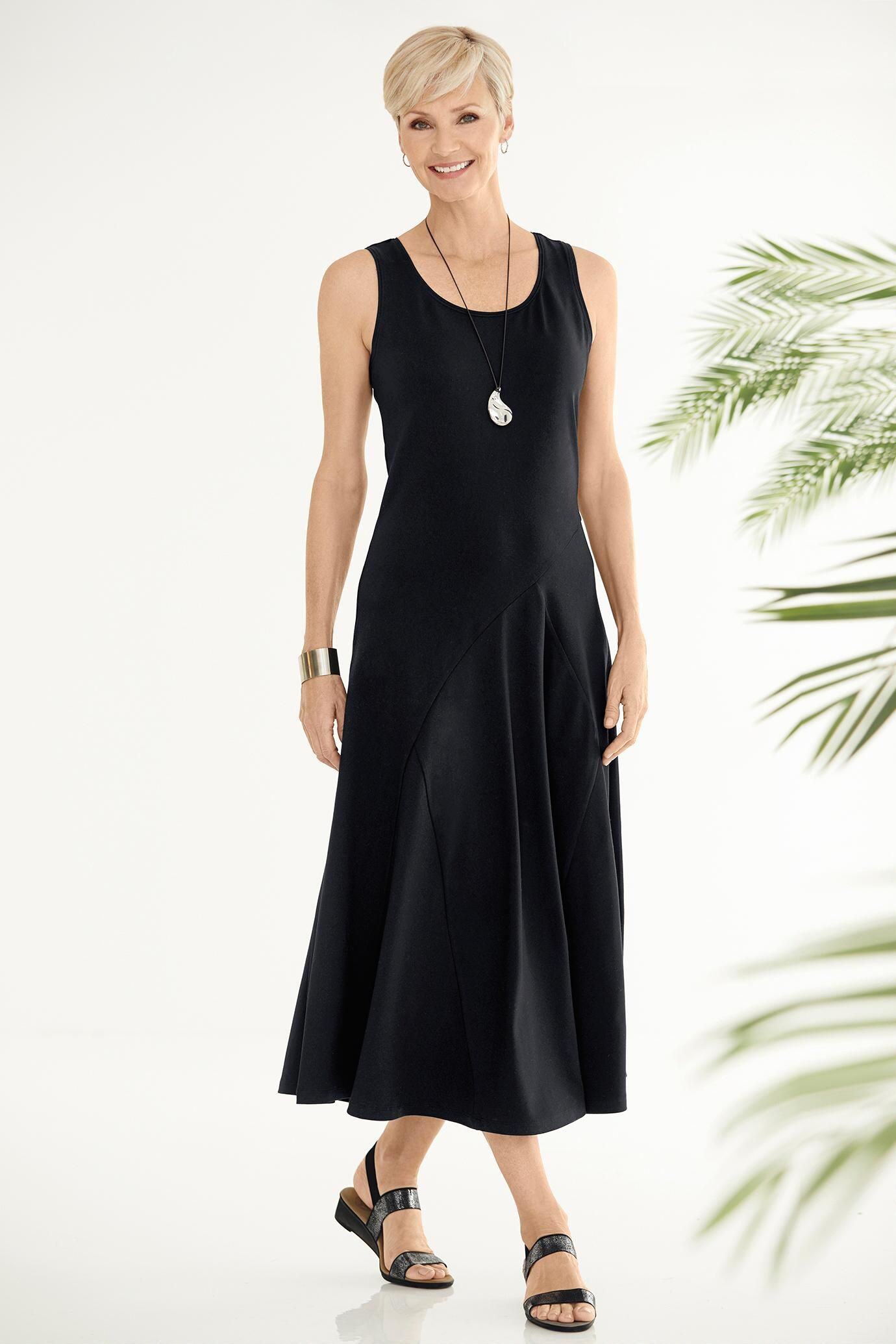 Indispensable tank maxi dress travelsmith 5900 79