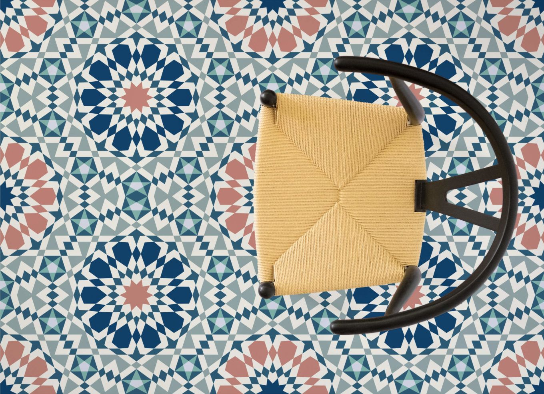 Moroccan Pattern Vinyl Flooring Vinyl Flooring Moroccan Pattern Tile Effect Vinyl Flooring
