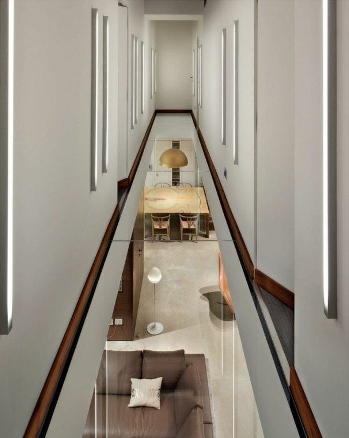 Transformez votre maison avec le plancher en verre for Couleur moderne pour couloir