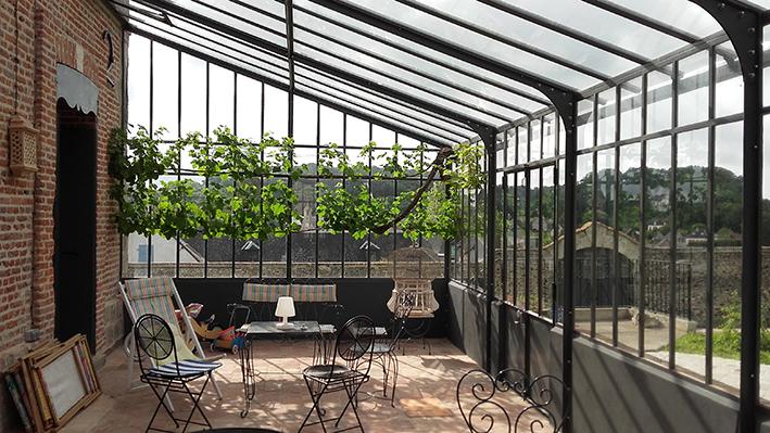 R sultat de recherche d 39 images pour jardin d 39 hiver verriere pinterest house - Verriere jardin d hiver ...