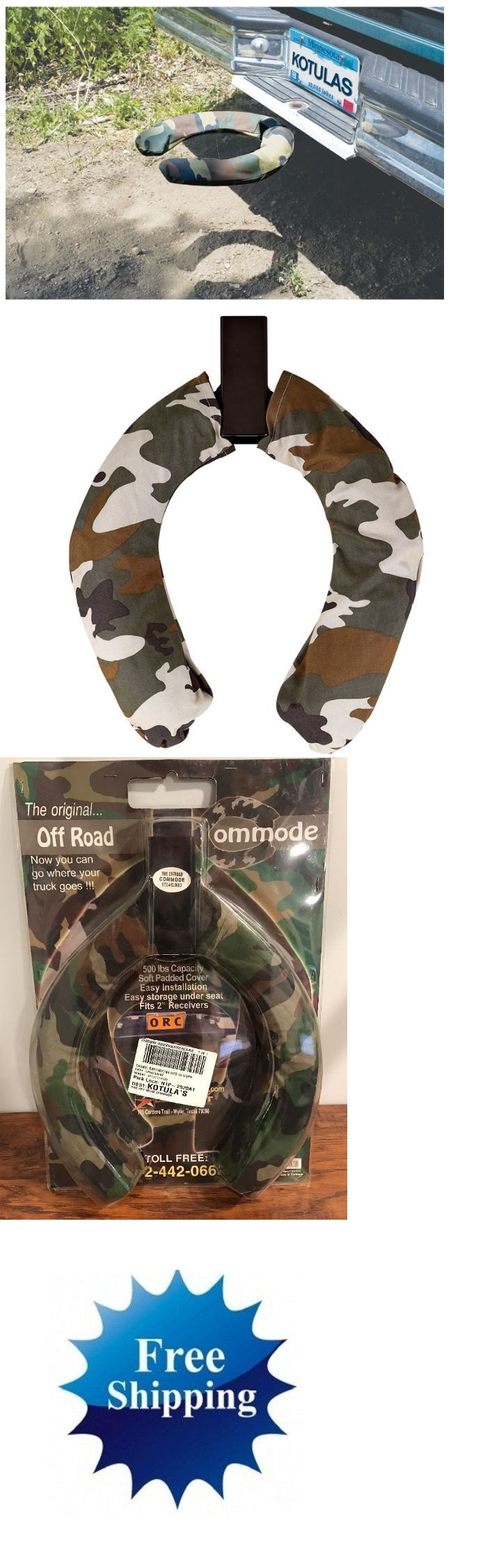 Portable Toilets And Accessories 181397 For Camping Trailer Hitch Seat Off Road Camo