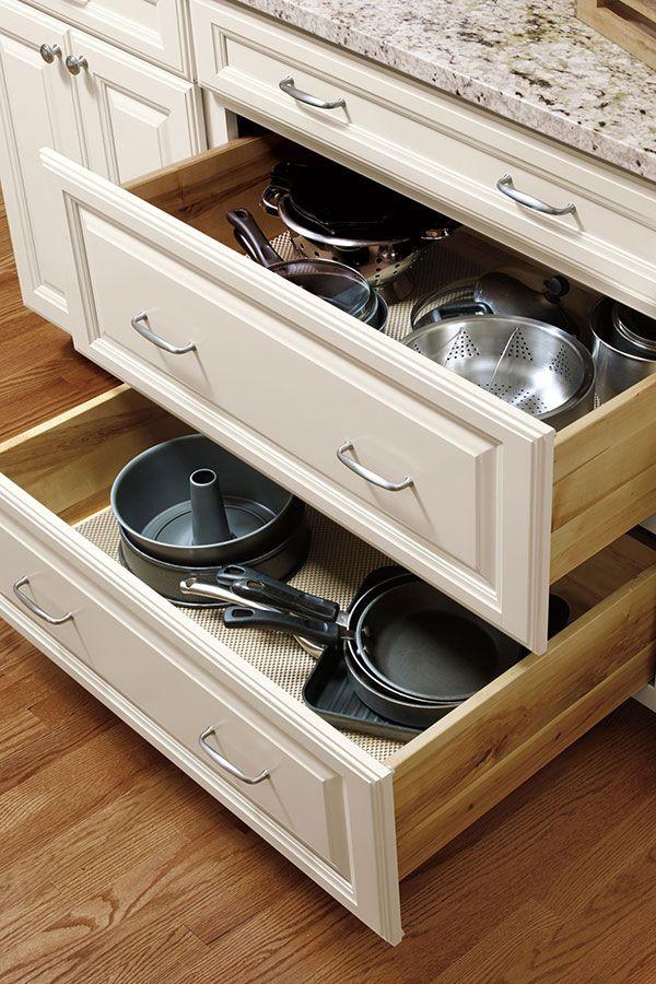 Three Drawer Base Cabinet