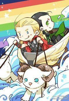 Cute Thor & Loki | Thorki | Loki thor, Thor x loki, Loki