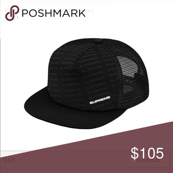c53b804d092 Supreme SS18 Drop 2 - Authentic Mesh hat Supreme Accessories Hats