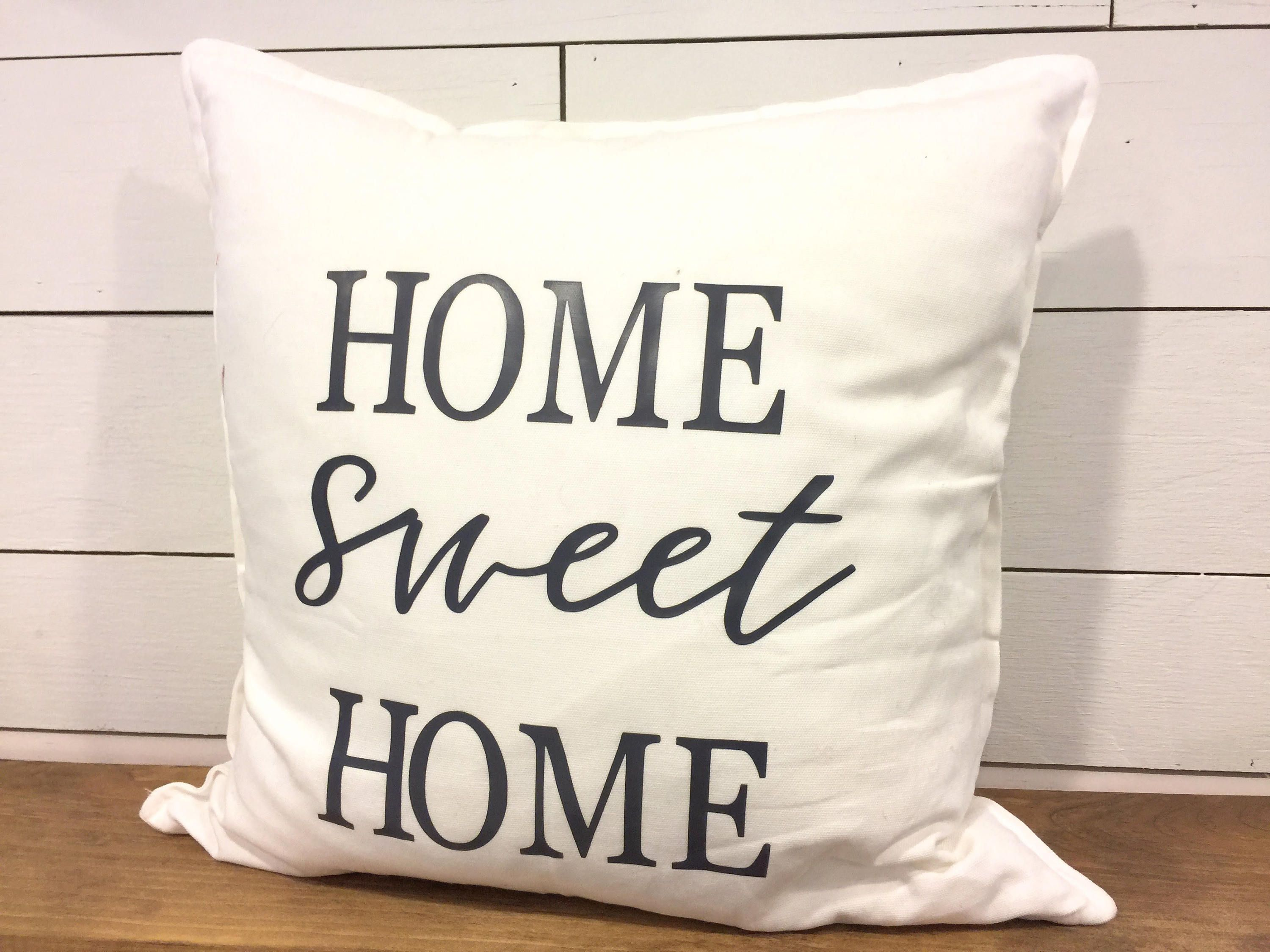 Home Sweet Home Pillow Cover 18x18 Pillow Cover