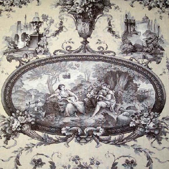 Decorating Ideas Toile Fabric: I Love, Love, Love Black And White. Could It Have Anything