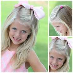 25 Little Girl Hairstyles...you can do YOURSELF! | csajos ...