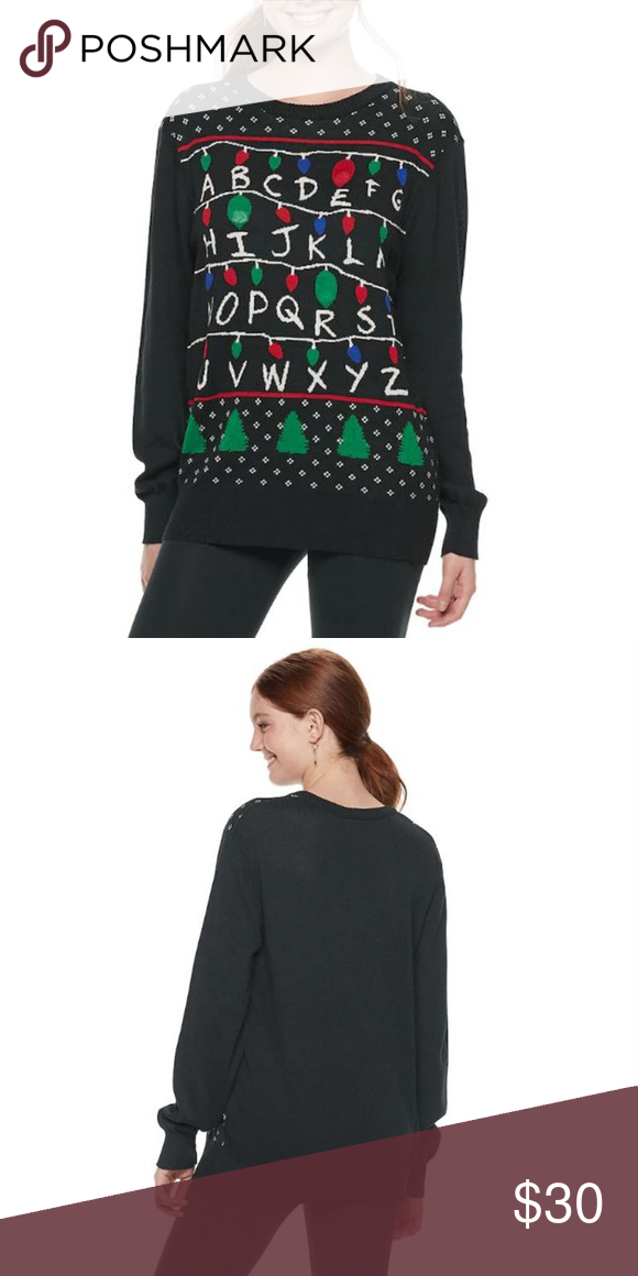 Coming Soon Stranger Things Light Up Sweater Its That Time Of