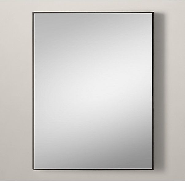 rhs custom metal mirror floatingsleek metal frames have clean finishes and minimalist details for